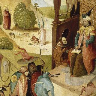 성 야고보와 마술사 에르모젠