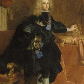 에스파냐 의상을 입은, 1700-1701년 경에 그려진 에스파냐 왕 필리프 5세