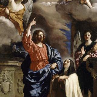 성 테레사에게 나타난 그리스도의 환영