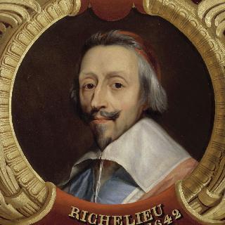 리슐리외  공작, 추기경 아르망-장 뒤 플레시스 (1585-1624)