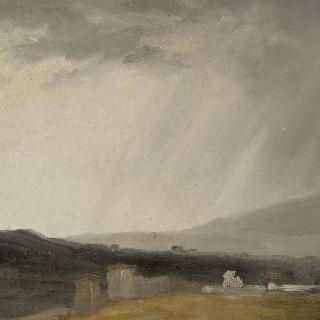 빌라 보르게세의 하늘 : 비오는 날