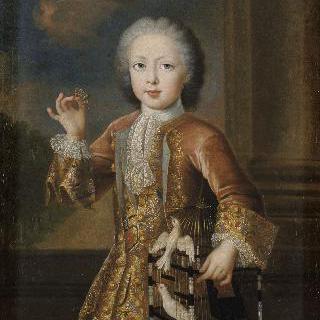 나비를 잡고 있는 어린 프랑수아 드 로렌 3세 (훗날 프랑수아 1세 황제)