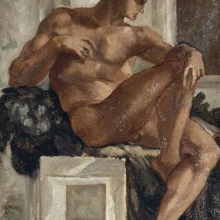 누드, 미켈란젤로의 작품 모사