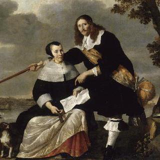 헨드릭 헥과 그의 부인 카타리나 브루버스의 초상