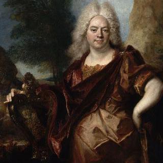 아폴론 복장을 한 남자의 초상