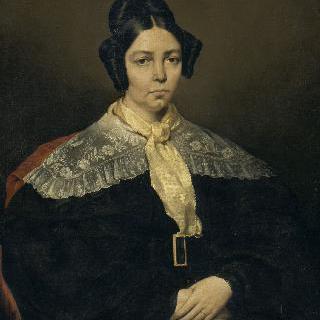 마리 마들렌 샤세리오 (쿠레) (1791-1866), 화가의 어머니