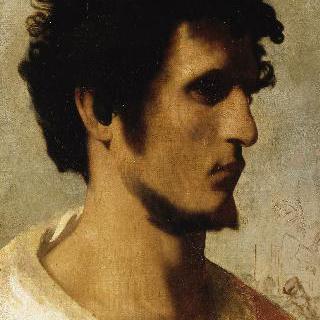 로마 시골 농부의 얼굴