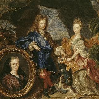 어린 소년과 그의 여동생의 초상