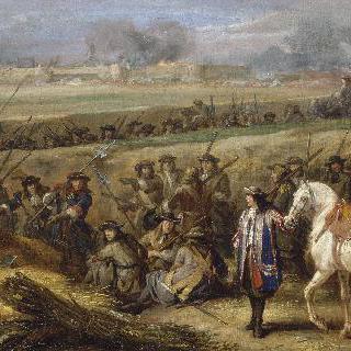 1667년 투르네 진지