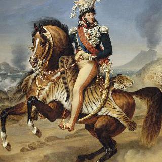 나폴리 왕 조아킴 뮈라(1767-1815)의 기마상