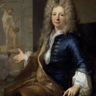 화가 루이 드 불로뉴 주니어의 초상