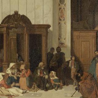 부활절, 로마 성 베드로 고해실
