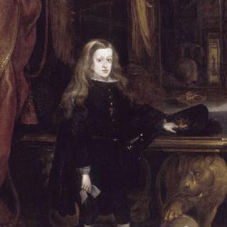 스페인의 왕, 샤를 2세의 초상