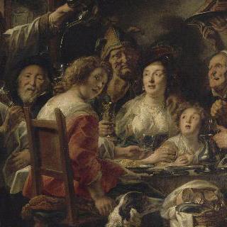 술마시는 왕 혹은 에피파니의 잠두콩 뽑기