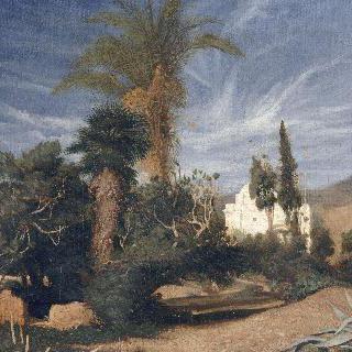 회교 사원의 전경