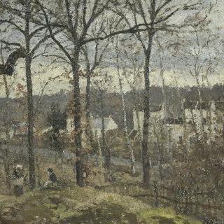 루브시엔느의 겨울 풍경