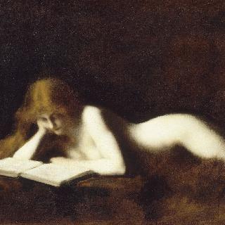 독서하는 여인 이미지