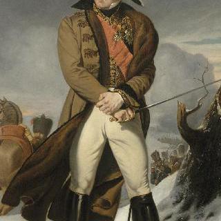 미쉘 니의 전신상, 1804년 경의 제국의 중사, 모스크바의 왕자