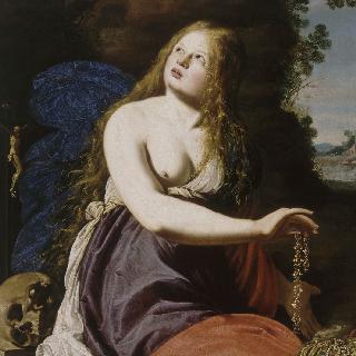 보물을 포기하는 성녀 막달라 마리아