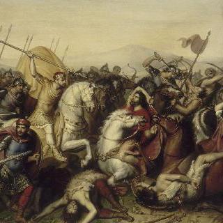 소쿠르 앙 비뫼 전투에서 승리한 루이 3세