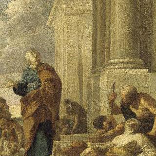 그림자로 병든자들을 치료하는 성 베드로