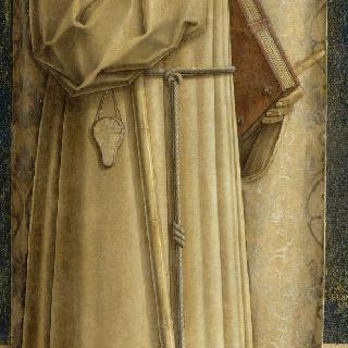 성 야고보 드 라 마르슈와 무릎 꿇은 두 명의 기부자