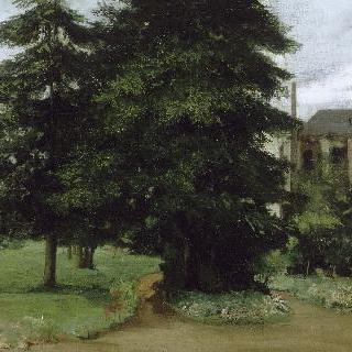 루즈 레 릴 수도원의 정원