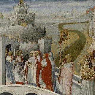 산탈젤로 성의 성 그레고리우스의 예배행렬