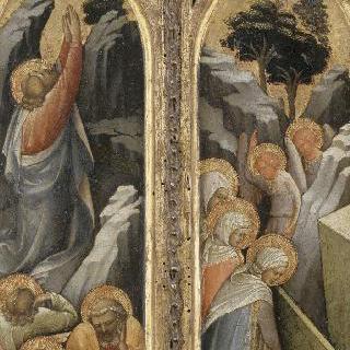 감람동산의 그리스도 : 무덤가의 성녀들