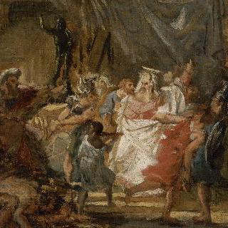 금지된 고기를 먹는 죄를 저지르기 보다 죽음을 택한 엘레아자르 (초안)