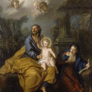 아기 예수를 무릎에 앉힌 성 요셉