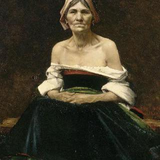 늙은 여인의 초상(1880)