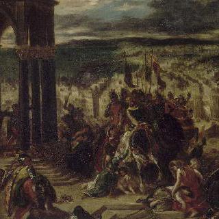 십자군의 콘스탄티노플 함락 (1204년 4월 14일)