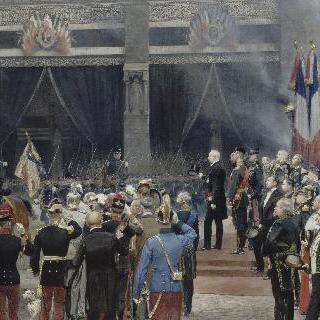 파리의 노트르담 대성당에서 거행된 루이 파스퇴르의 국장