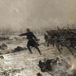 슈느비에 전투에서 지휘를 맡은 카라용 라투르 연대장
