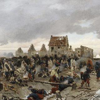 1870년 파리 공략의 일화