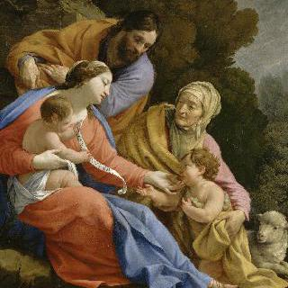 성녀 엘리자베스와 어린 세례 요한이 있는 성 가족