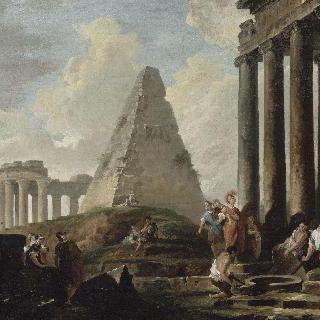 아킬레우스의 무덤 앞의 알렉산더 대왕