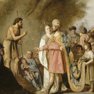 헤로이드앞에서 복음을 전하는 성 요한 밥티스트