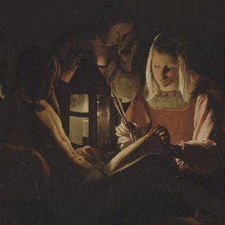 등불앞의 성 세바스티아누스