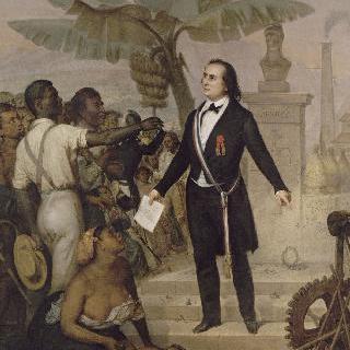 레위니옹 섬 노예의 해방 - 사르다 가리가
