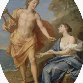 글로크의 무녀에게 동의하는 아폴론