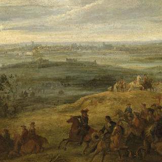 1677년 4월 22일, 생-토메르를 정복한 루이 14세의 형제 오를레앙 공작