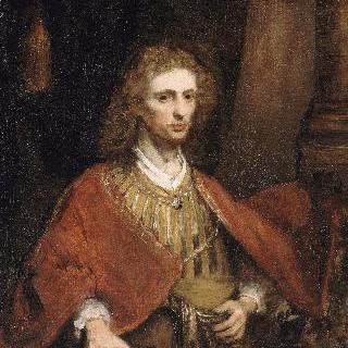 붉은 망토를 걸친 남자의 초상
