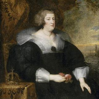 마리 드 메디시스의 초상, 프랑스의 여왕