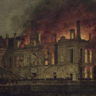 1856년 극장 회랑의 화재