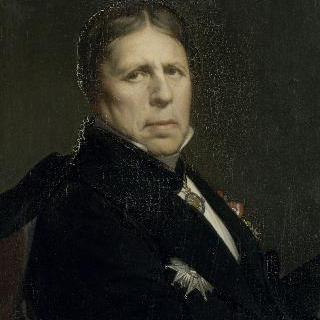 1859년경 발표한 장-오귀스트-도미니크-앵그르의 초상, 유화