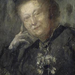 몽포르 자작부인의 초상 (헤네캥), 화가의 장모