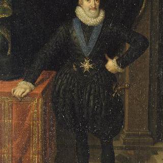 1610년의 프랑스와 나바르의 왕 앙리 4세 (1553-1610)