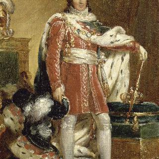 나폴리와 시칠리아의 왕, 황실 복장을 입은 조아킴 뮈라